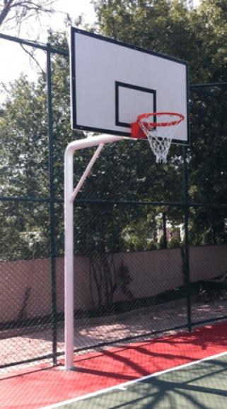 Fiber Panyalı Tek Direkli Basketbol Potası - BT-1201